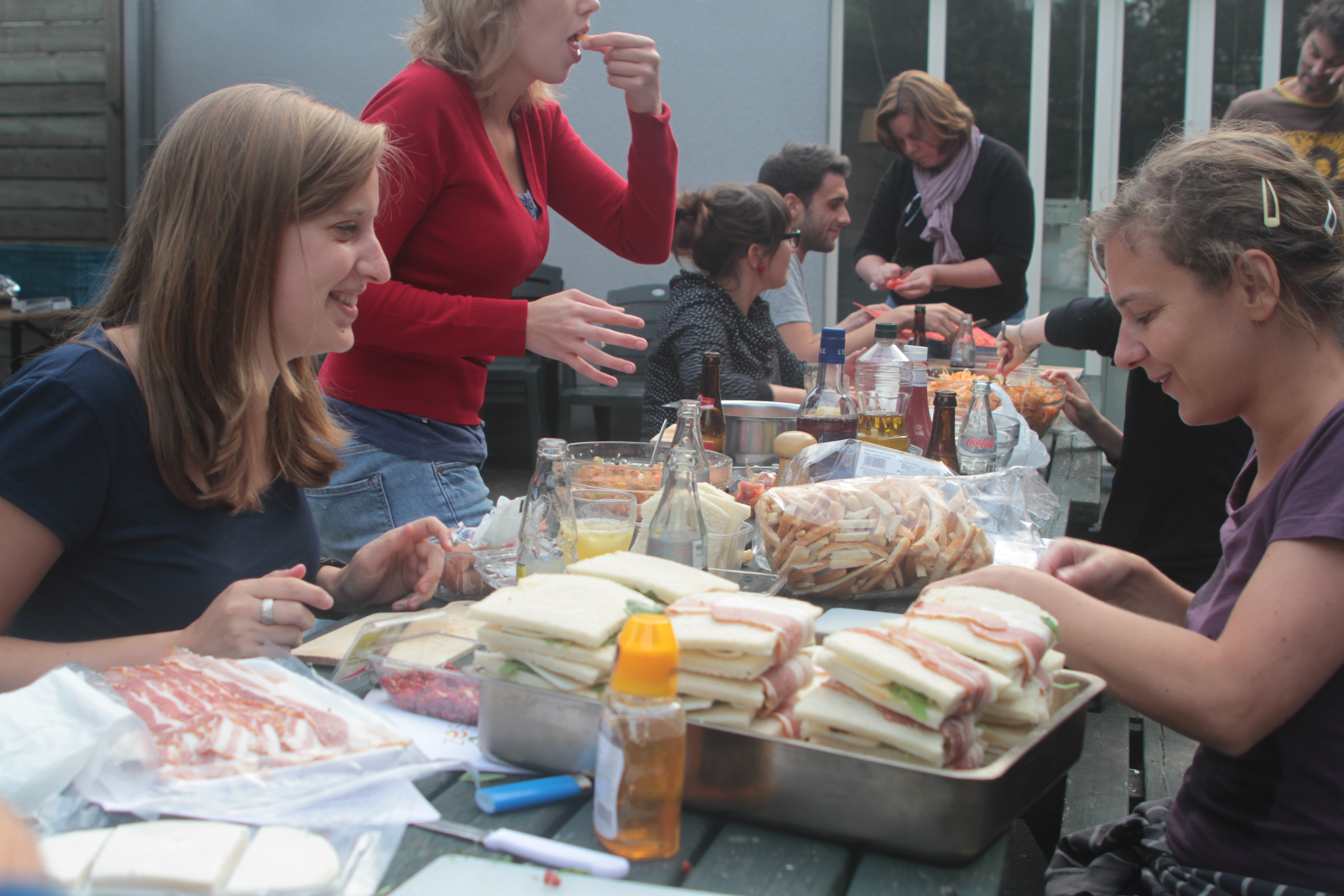 Stel je eigen lunch samen