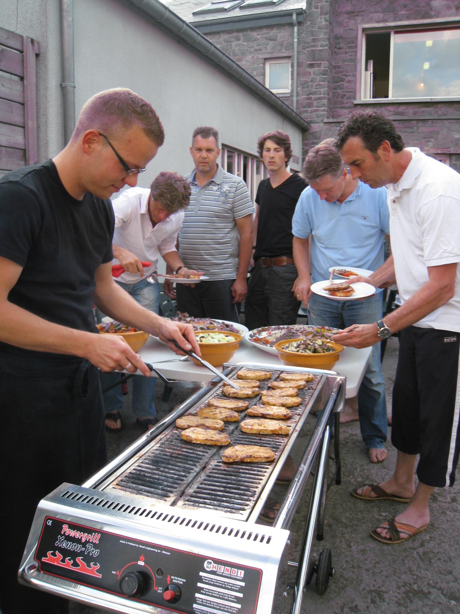 Lekker eten bij La Laiterie