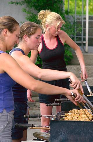 BBQ bij La Laiterie