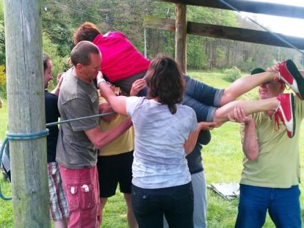 Teambuilding in de Ardennen